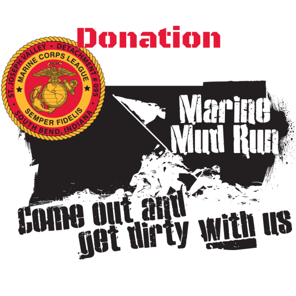 Mud Run Logo Donation